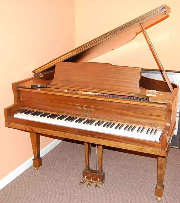 "15: BEHR 4'9"" BABY GRAND PIANO"
