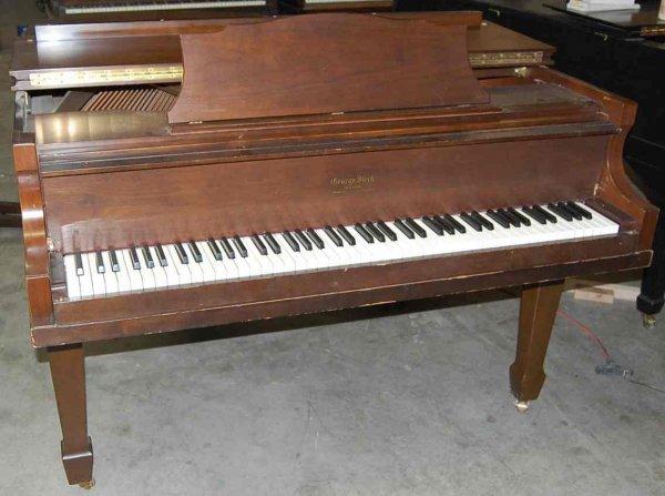"23: GEORGE STECK 5'3"" MEDIUM GRAND PIANO"