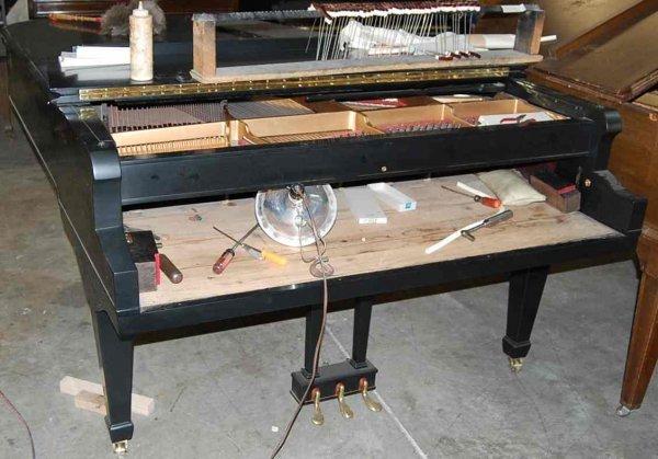 24: CHARLES FREDERICK STEIN 7' GRAND PIANO