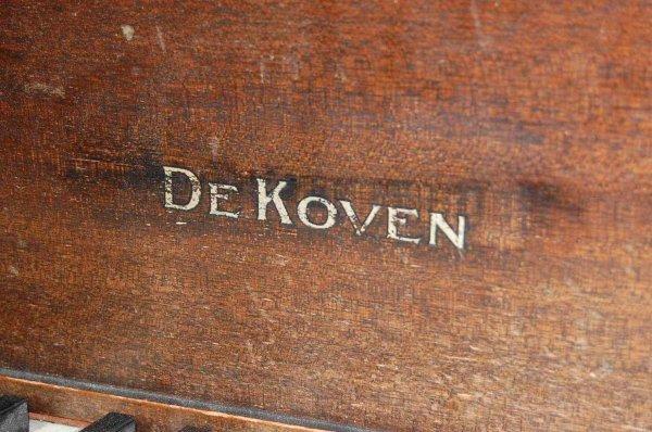 """39: DeKOVEN 4'6"""" BABY GRAND PIANO - 2"""