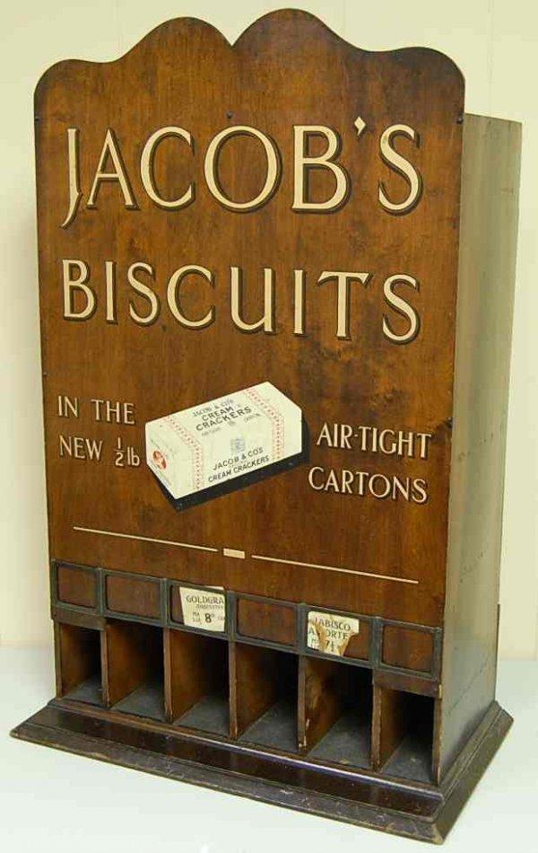 1027: JACOBS BISCUIT DISPENSER BOX
