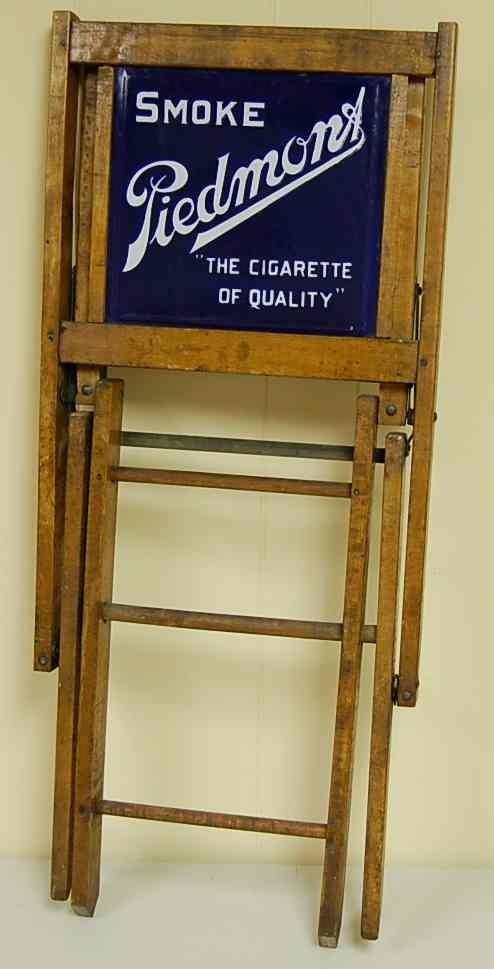 1029: PIEDMONT CIGARETTE FOLDING CHAIR