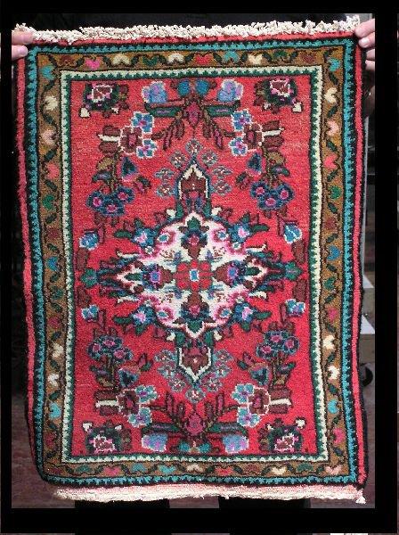 9: Persian Hamedan Rug  204-137