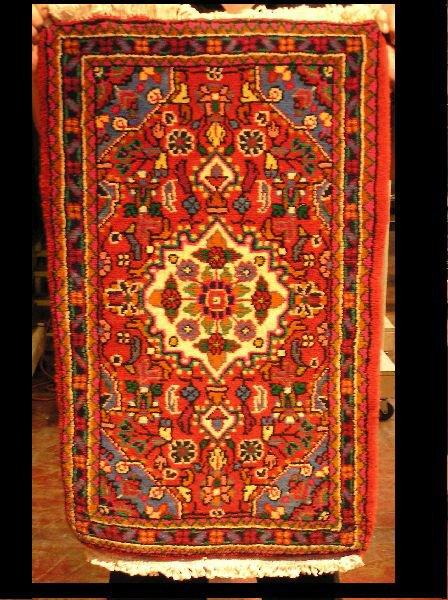 19: Persian Hamedan Rug 2 x 3  204-116