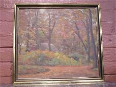 105: Oil on Canvas signed Carl Hans Jensen