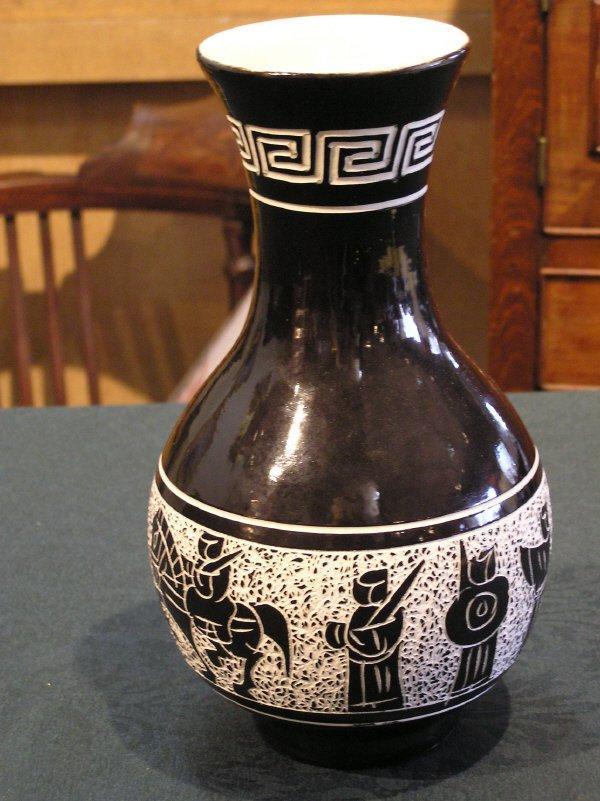 2: Unusual Figural Porcelain Vase