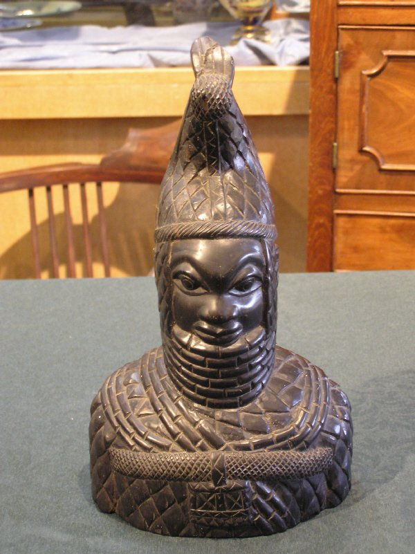 4: Wood Carved African Figure