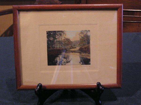 5: Framed Wallace Nutting Landscape