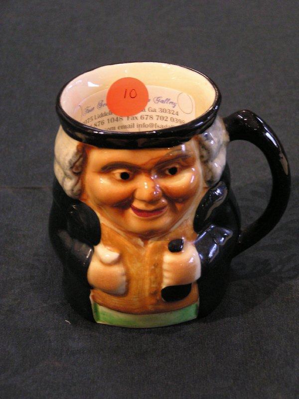 10: Crown Devon English Character Mug