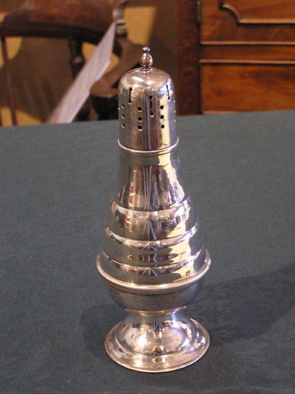 11: Silverplate English Sugar Shaker