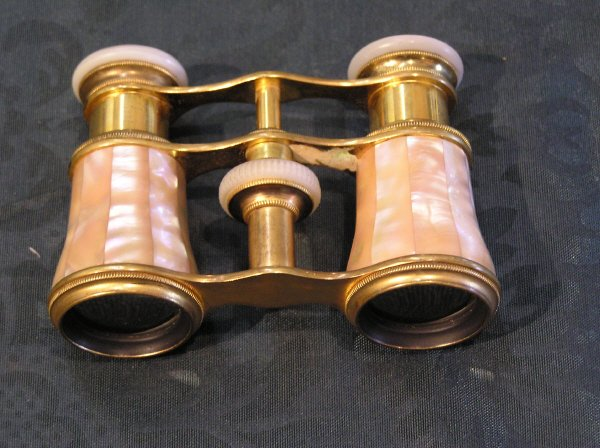13: Mother of Pearl Opera Glasses