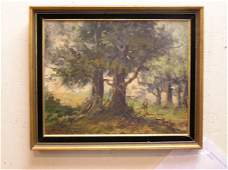 55 20th Cent Oil on Canvas signed Ray Ciarrochi
