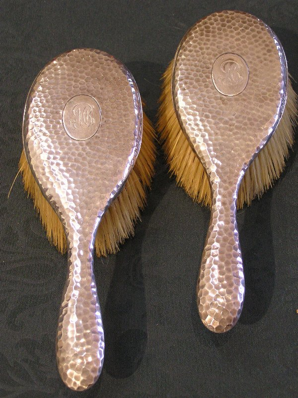 10: Pair of Sterling Silver Hallmarked Brushes