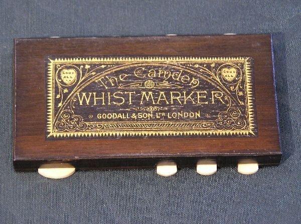 11: Camden Whist Marker