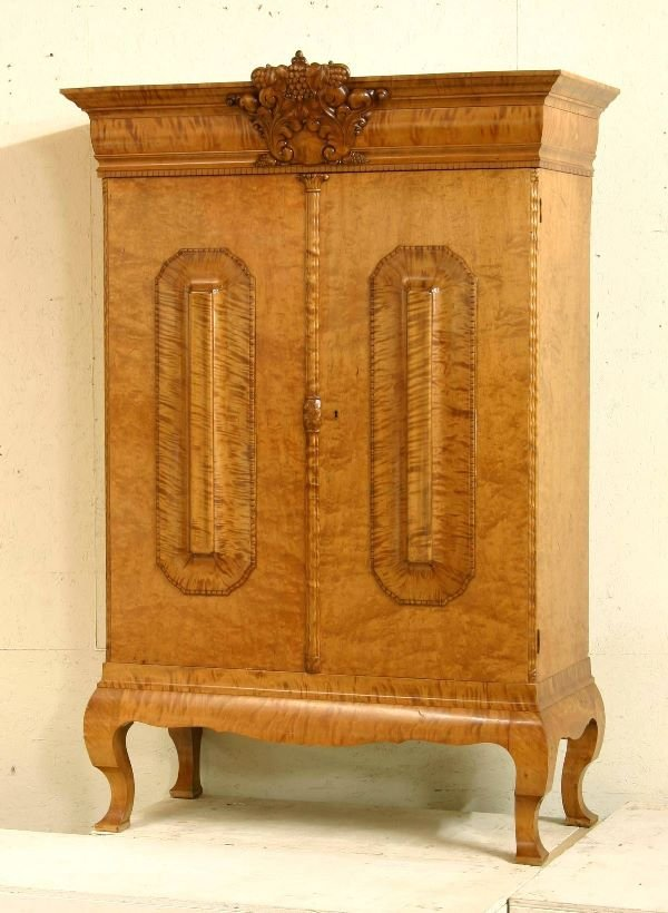 93: Curly Maple Armoire