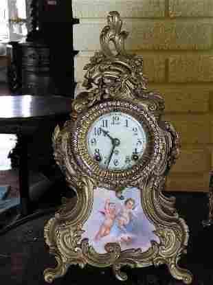Ansonia Mantle Clock in French Louis XV Case