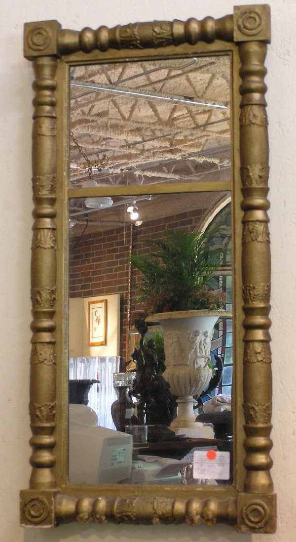 5: American Mirror in Gilt Frame