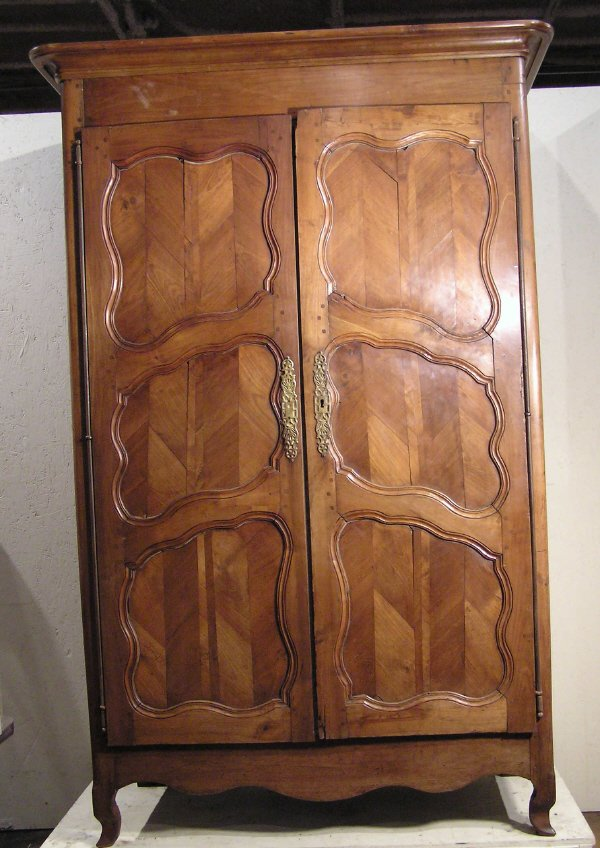 8: Cherry Country French Armoire