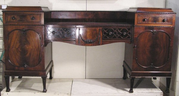 12: English Mahogany Sideboard