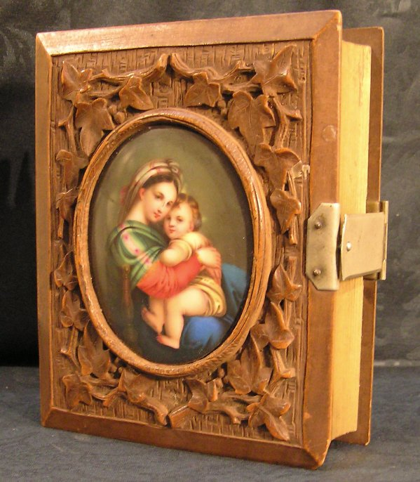17: Porcelain and Carved Wood Portrait Album