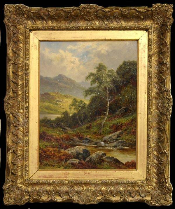 5: Artist Signed Oil on Canvas Landscape H.D. Hillier