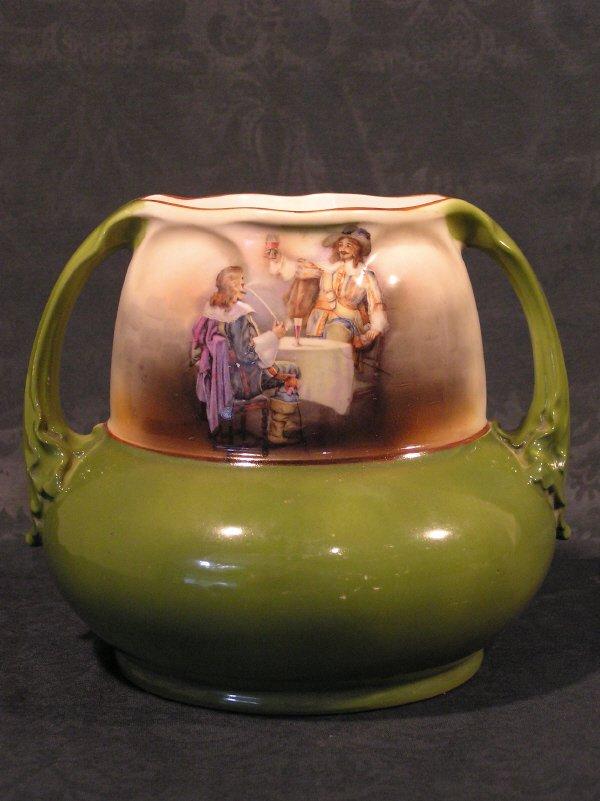 7: Royal Bayreuth Cavalier Vase