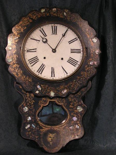 11: Ebonized Wall Clock