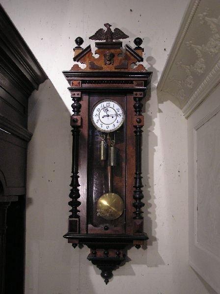 21: Gustav Becker Vienna Regulator Wall Clock