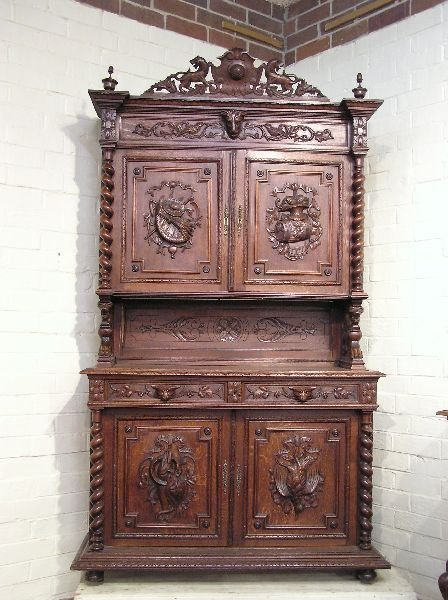 20: French Court Cupboard