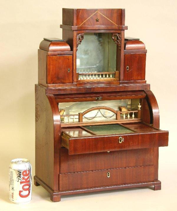 89: Salesman Sample Biedermier Desk