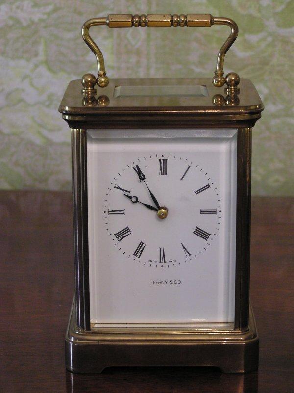 1011: Tiffany & Company Carriage Clock