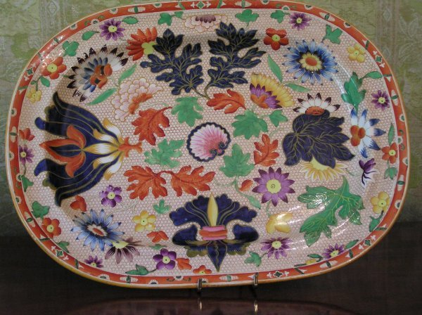 1013: Oval Imari Platter