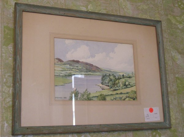 1015: Watercolor signed R. MacDonald Ross