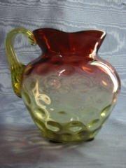6: Hobbs Amberina pitcher 412-006