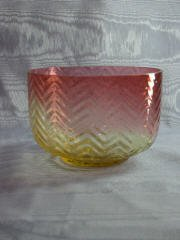 12: Hobbs Amberina Bowl 412-012