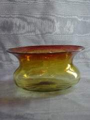 Libbey Amberina Spitoon 412-013
