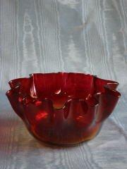 14: Amberina Bowl  412-014