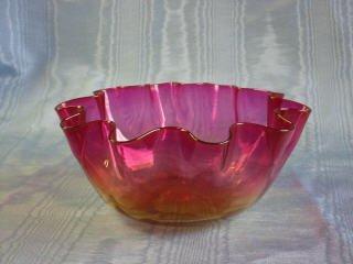 15: Libbey Amberina Bowl 412-015
