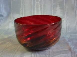 Amberina Bowl 412-016