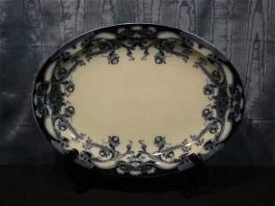 Flo Blue Platter 425-51