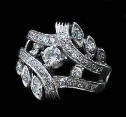 14K Diamond Ring 337-016