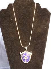 Sterling & Lapis Necklace 205-42