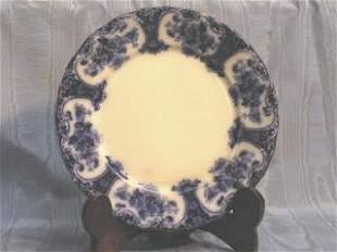 Flow Blue Plate 521-12