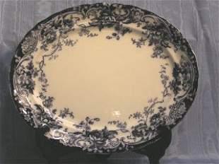 Blue & White Platter 460-1