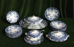 Blue & White China Set 455-90