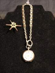Silver French Pocket Watch 170-62