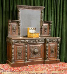 9: Carved Sideboard 455-75