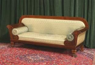 Carved Empire Sofa 317-30