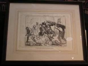 Daumier Lithograph #189 317-15