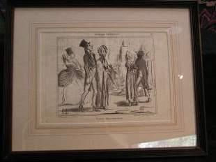 Daumier Lithograph #17 317-17